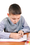 Kid is drawing Royalty Free Stock Photography