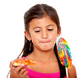 Kid eating Royalty Free Stock Photography
