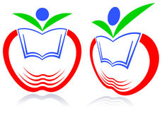 Kid education logo Stock Photos