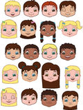 Kid Expressions Royalty Free Stock Images