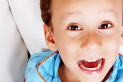 Kid face Royalty Free Stock Photography
