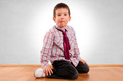 Kid fashion Stock Images