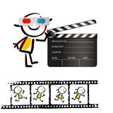 Kid filmstrip Stock Photo