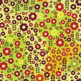 Kid floral pattern Stock Photo