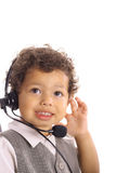 Kid friendly customer service Royalty Free Stock Images