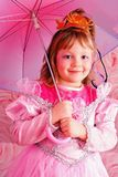 Kid girl party. Stock Images