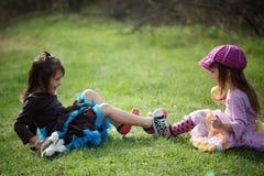 Kid girls Stock Photography