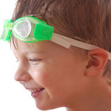 Kid with goggle Stock Photography