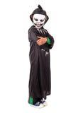 Kid in Halloween costume Royalty Free Stock Photos