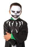 Kid in Halloween costume Stock Photos