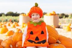 Kid at halloween Stock Photo