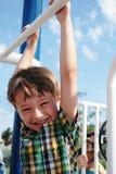 Kid having fun stock images