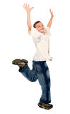 Kid having joy Royalty Free Stock Photos