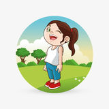 Kid icon. child design. Childhood concept Royalty Free Stock Photo
