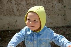Kid III. Happy kid Stock Photos