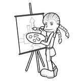 Kid Illustration Royalty Free Stock Photos