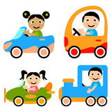 Kid illustration vector Stock Photos