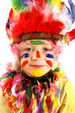 Kid Indian costume Royalty Free Stock Image