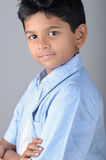 Kid. Indian kid with expression in the face Stock Image
