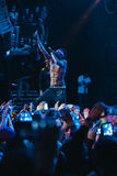Kid Ink performing live in Moscow, Russia Stock Photo