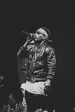 Kid Ink performing live in Moscow, Russia Stock Image