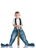 Kid on isolated background Stock Photos