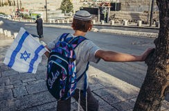 Kid in Jerusalem Royalty Free Stock Images