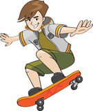 Kid jumping Royalty Free Stock Images
