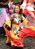 Kid on Khamore - world roma festival Royalty Free Stock Images