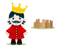 Kid king Royalty Free Stock Images