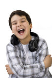 Kid laughing Stock Photography
