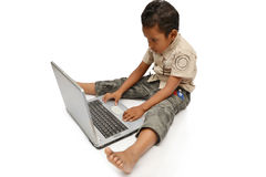 kid learning Stock Image