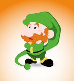 Kid Leprechaun Stock Image