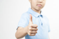 Kid like sign Royalty Free Stock Photography