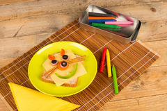 Kid meal Stock Photos