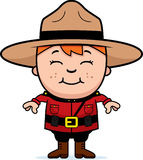 Kid Mountie stock illustration