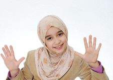 Kid muslim Royalty Free Stock Photos