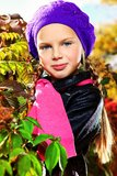 Kid outdoor Royalty Free Stock Images