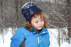 Kid outdoor Royalty Free Stock Photos