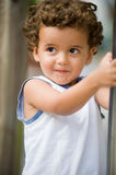Kid Outside Royalty Free Stock Images