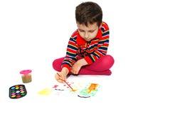 Kid paint image by paints stock images