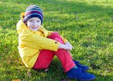Kid at the park Royalty Free Stock Photo