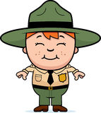 Kid Park Ranger Royalty Free Stock Photography