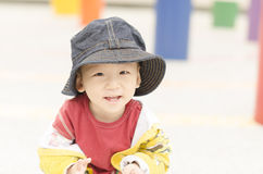A kid in the park Stock Photography