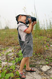 Kid Photographer Stock Images