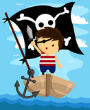 Kid Pirate Royalty Free Stock Images