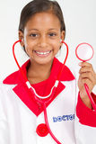 Kid play doctor Royalty Free Stock Photography