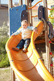 Kid at playground Royalty Free Stock Photography