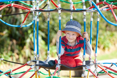Kid at playground Royalty Free Stock Photos