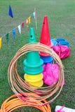 Kid playground items Stock Photo